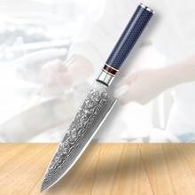 2020 Chef Knife Damascus Knife Cuisine Knife Kitchen Knife Set Kinfe Tools Gadget Kitchen Barbecue Knife Knife Wheel Tool недорого