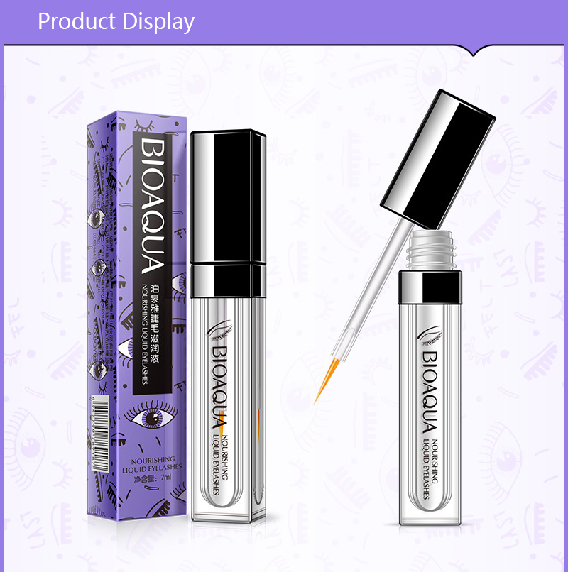 Eyelash Nourishing Fluid Growth Treatments Liquid Eye Lash Serum Enhancer Moisturizing Build Thicker Longer Curller