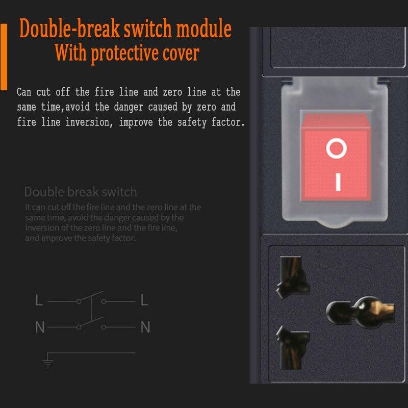 com interruptor de quebra dupla 3 4