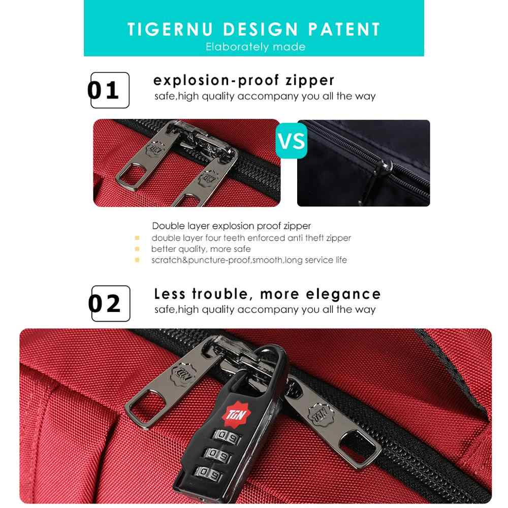 Tigernu 2020 Baru Fashion Wanita Anti Pencurian Tas Ransel Laptop Tahan Gores Wanita Sekolah Ransel Perjalanan Feminina Mochilas Kasual