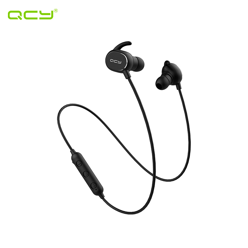 Earphones & Headphones QCY QCYQY19BL wireless headphone bluetooth headset earphone in ear apple airpods bluetooth earphone wireless headphone headphone with microphone bluetooth earphone in ear