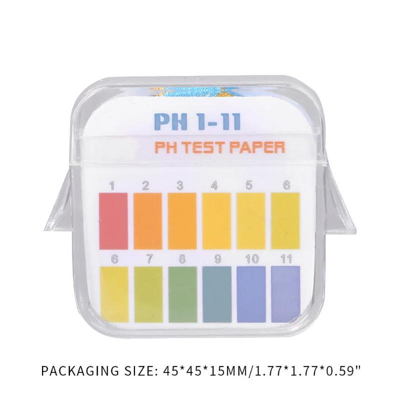 2 In 1 Water Acidity Alkalinity PH Test Strip 1-11 12.0-14.0 PH Litmus Paper Detection Many Water-Related Daily Substances