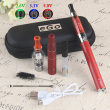 Vaporizer-Pen-Kits Liquid-Cbd Atomizer Herb-Wax Electronic-Cigarette Ugo T 1100mah-Battery