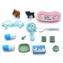 14 шт детская игрушечная собака таблетки ветеринарной клиники