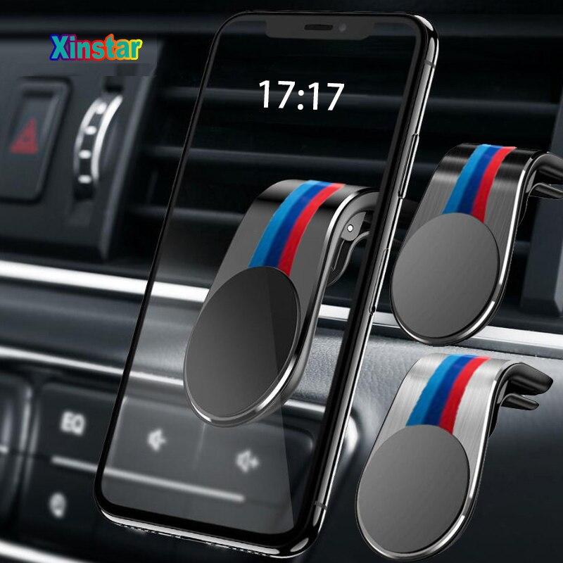 M Performance Car phone holder sticker for BMW E34 E36 E39 E46 E53 E60 E70 E71 E85 E87 E90 E91 E92 E83 F10 F20 F21 F30(China)