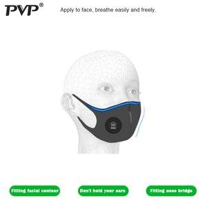Image 3 - Маска для лица унисекс с эффектом защиты от загрязнения PM2.5, вставка с фильтром из активированного угля, можно стирать, многоразовая, для мужчин и взрослых