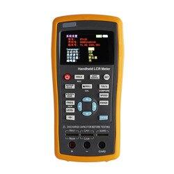 ET430 Ручной LCR метр 100 кГц LCR-цифровой мост метр емкость индуктивность Измеритель сопротивления Высокоточный Счетчик Измеритель