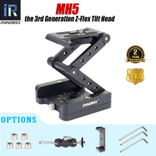 Z-Flex Tilt tripod head 360°Rotation Adjustable folding Z pan monopod foldable rig Magic Arm Mobile clip for Canon Nikon Sony