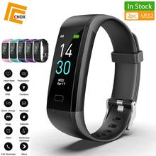 CHDX Bluetooth Multi-Languages Smart Watches Heart Rate Monitor Bracelets Fitness Traker Waterproof IP68 Wristband