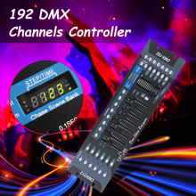 NEW 192 DMX Controller DJ Equipment DMX 512 Console Stage Lighting For LED Par Moving Head Spotlights DJ Controlle(China)