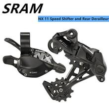 Sram NX 11 Скорость триггерный переключатель передач с задний переключатель черные длинные клетка аксессуары для MTB горный велосипед
