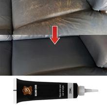 Leather Refurbishing Cleaner Repair Cream Advanced Leather Repair Gel Car Seat Home Leather Complementary Color Repair Paste20ml
