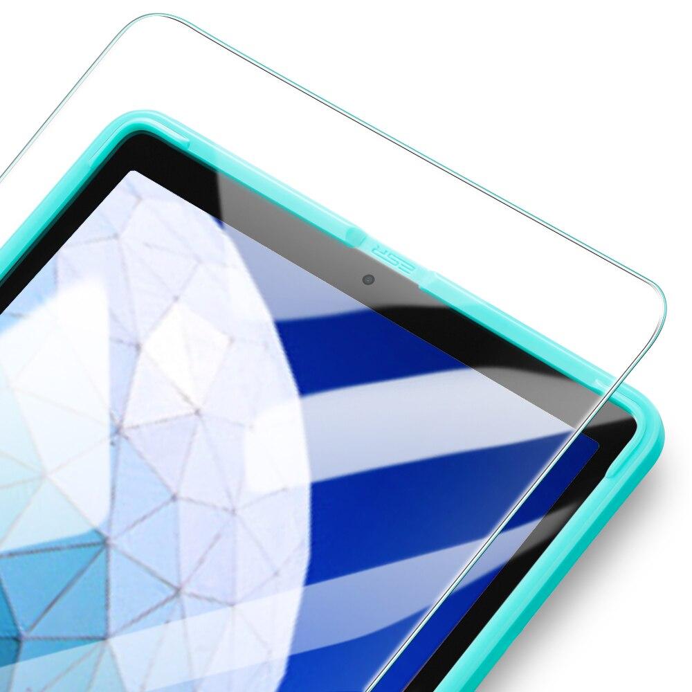 ESR закаленное стекло для iPad 7 Generration 10,2 Air 3 iPad Pro 10,5 Защитная пленка для экрана 9H стеклянная пленка для iPad 7th Gen Air3 2pc - Цвет: 1pc