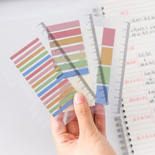3 designs PET Waterproof Planner Stickers Index Bookmark Stationery Sticky Notes School Supplies