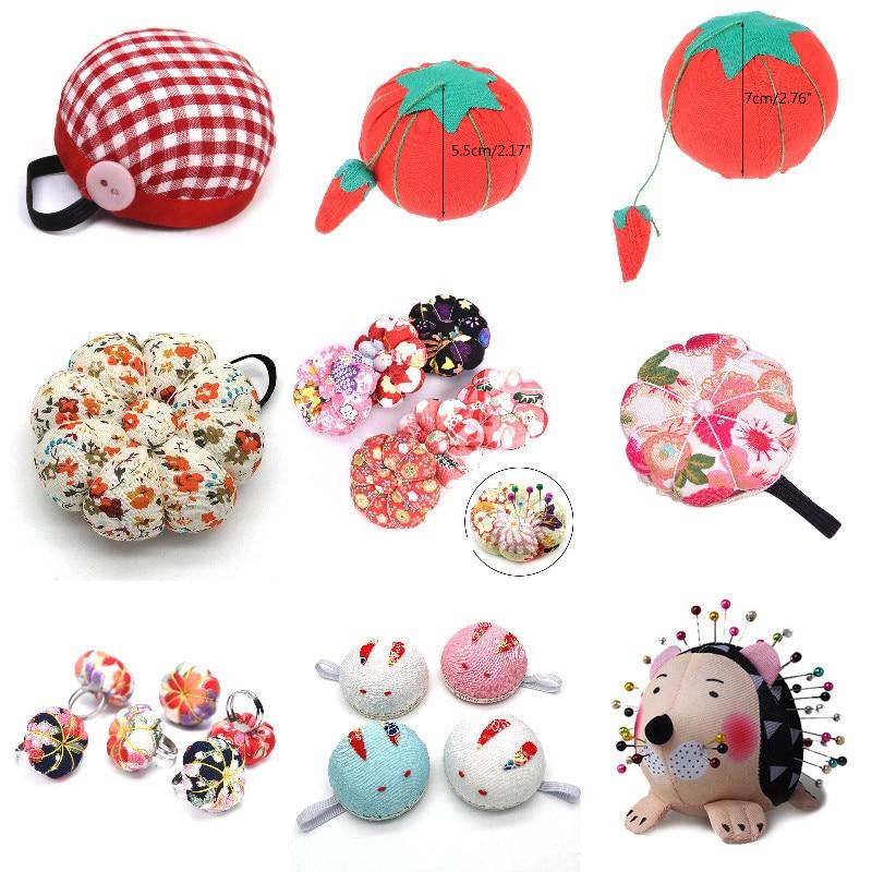 1Pc DIY Craft Needle Pin Cushion Holder Sewing Kit Pincushions Wrist Strap Pin Cushion Home Sewing Supplies
