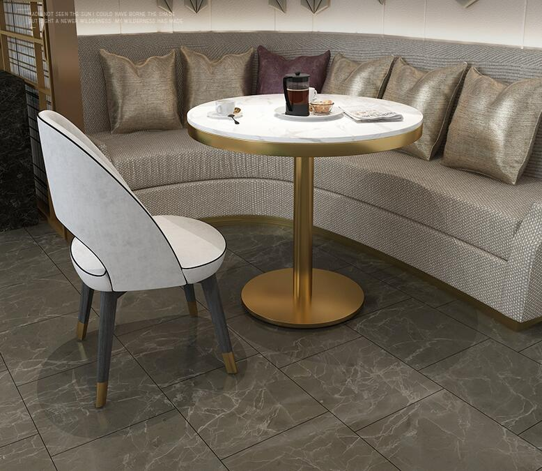 Скандинавский стол и стул комбинированная фара роскошный мраморный стол гостиничный приём продаж офисный стол Повседневный журнальный столик