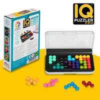 SmartGames IQ Puzzler Pro un Abilità Cognitive-Building Cervello Gioco-Rompicapo per Le Età 6 e Fino, 120 Sfide in Viaggio