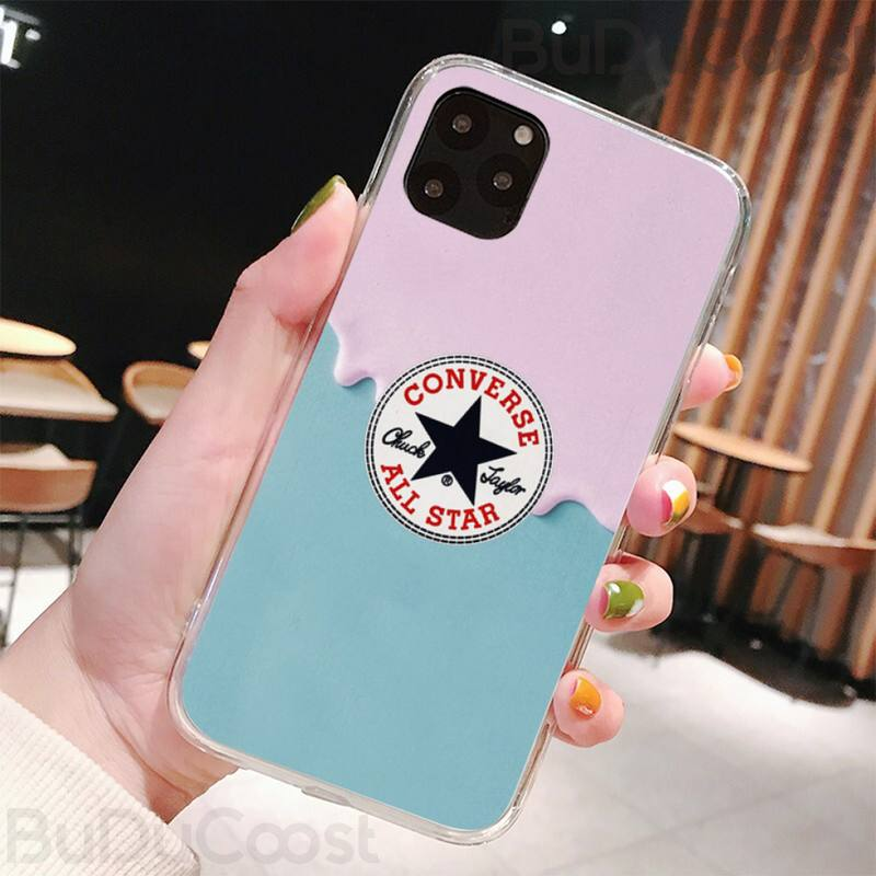 Mantin Fashion Brand Converse Coque Shell Phone Case For iphone 5C 5 6 6s plus 7