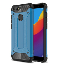 Luxury Silicone Shockproof Phone Case for Honor 7A Pro Huawei enjoy 8e Shell Rugged Armor Cover 8X Bumper