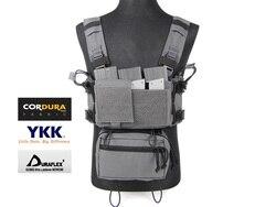 MK3 Licht Taktische Micro Brust Rig Komplette Set Städtischen Wolf Grau (SKU051457)