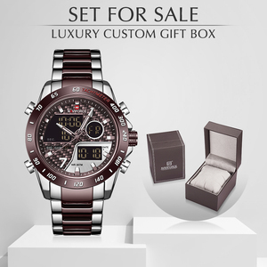 NAVIFORCE Men Watch With Box L