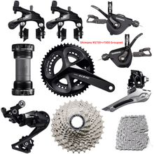 SHIMANO RS700 + R7000 Groupset 105 R7000 Flat bar Road bicycle derailleur groupset