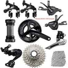 Shimano rs700 + r7000 groupset 105 r7000 barra plana estrada bicicleta desviador groupset