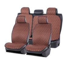 Auto sitzbezüge Künstliche wildleder anzug für 1 sets Auto Leinen Seat Protector auto zubehör innen für mazda 6 passat b7