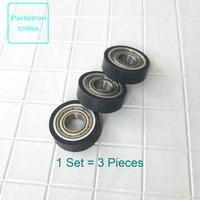 3Set Ondersteuning Roller 000-01169 voor Riso GR/RA/RC/FR/RP GR 1700 1710 1750 2000 2700 2710 2750 RP 310 350 370 3100 3105 3500 3590