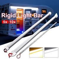 Wasserdichte LED Bar Lichter DC 12V 50cm 9W 5630 SMD 36 Hohe Helligkeit LED Starren Streifen Energie saving Schrank Zähler LED Beleuchtung