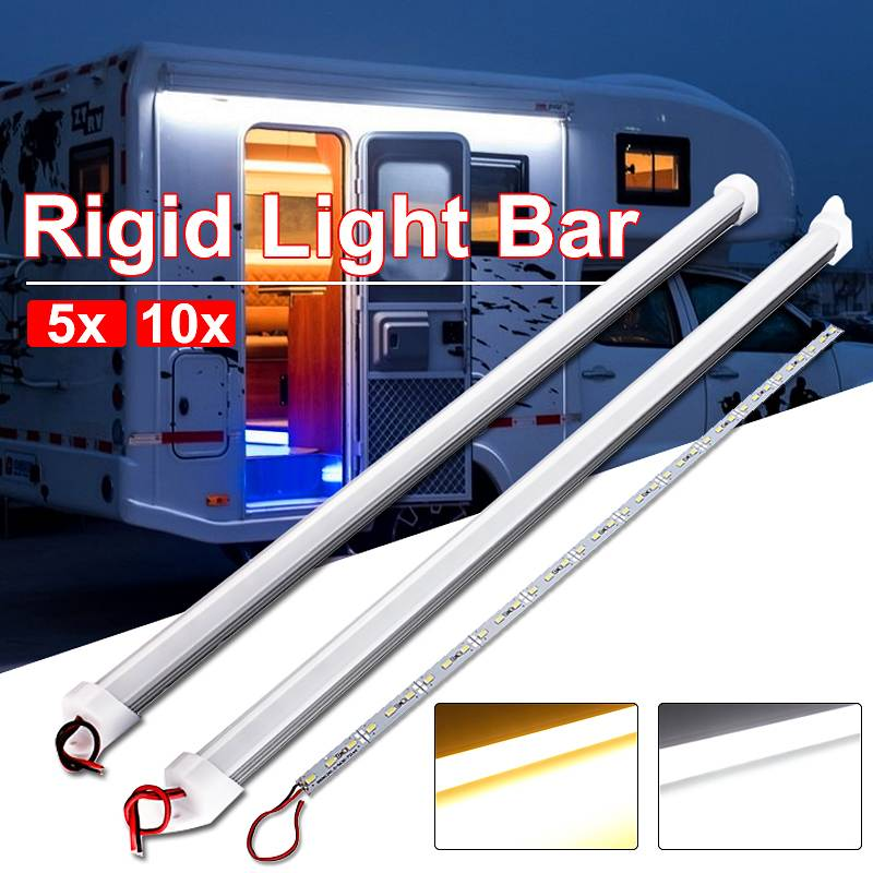 Waterproof LED Bar Lights DC 12V 50cm 9W 5630 SMD 36 High Brightness LED Rigid Strip Energy Saving Cabinet Counter LED Lighting
