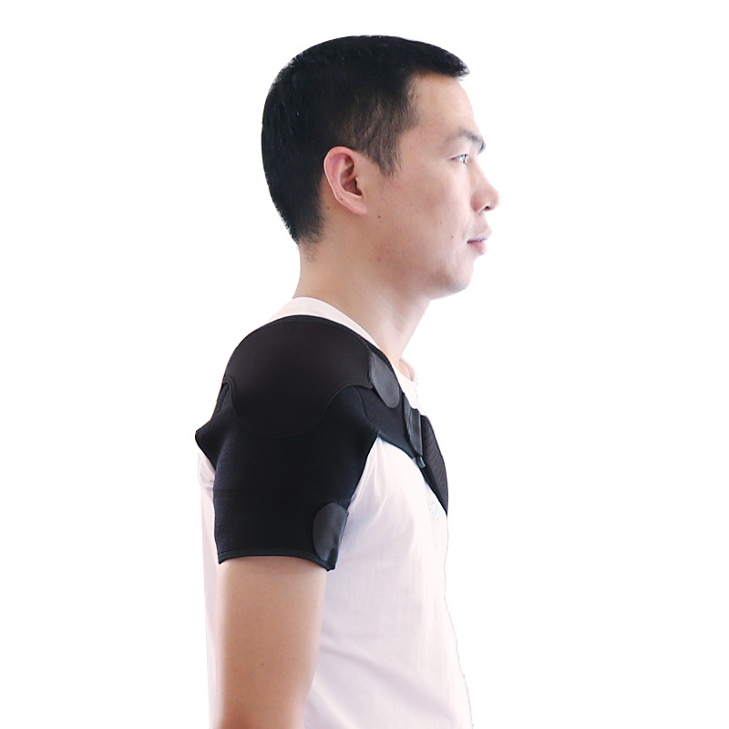 Protection Shoulder Sports Pressurized Elbow Guard Mountain Climbing Fitness Protection Shoulder Pad Elasticity Comfortable Men'