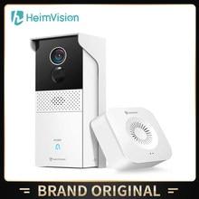 HeimVision-timbre de puerta inalámbrico HMBA1MQ 1080P, visión más amplia, acceso remoto, visión nocturna, resistente a la intemperie, alimentado por batería