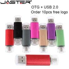 JASTER USB flash drive OTG high Speed stick 64 GB 32 GB 16 GB 8 GB 4 GB externe speicher doppel Anwendung Micro USB Stick