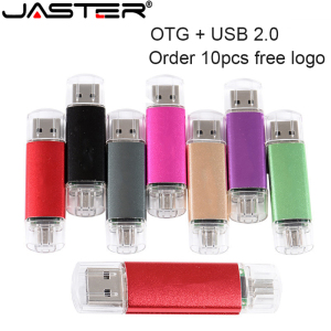 JASTER USB flash drive OTG high Speed drive 64 GB 32 GB 16 GB 8 GB 4GB external storage double Application Micro USB Stick