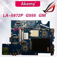 NAWA2 LA 5972P for lenovo G555 notebook G555 laptop motherboard NAWA2 LA 5972P mainboard DDR2 Test original mothebroard