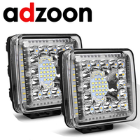 ADZOON 4inch 231w LED Work Light 12v 24v Offroad Car Lights for Truck Bus Boat Fog Light Car Light Assembly