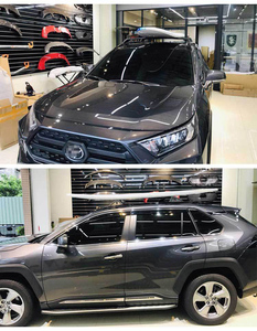 Image 5 - OE トヨタ RAV4 ため実行しているサイドステップサイドバー 2019 2020 2021 、オリジナルデザイン、保証品質、 guanrantee フィットインストール