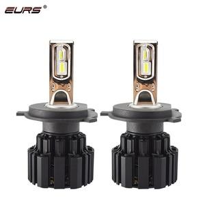 Image 2 - Eurs P9 led H4 H7 led 車のヘッドライト電球 100 ワット hi/lo ビーム H11 H8 H9 HB4 自動 led ヘッドライト H13 フォグライト D2S D4S hid 電球 13600LM