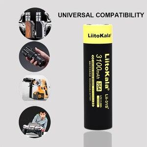 Image 3 - 10PCS LiitoKala Lii 31S 18650 3.7V 3100mA ליתיום יון 35A כוח סוללה הוא בשימוש אלקטרוני סיגריות.