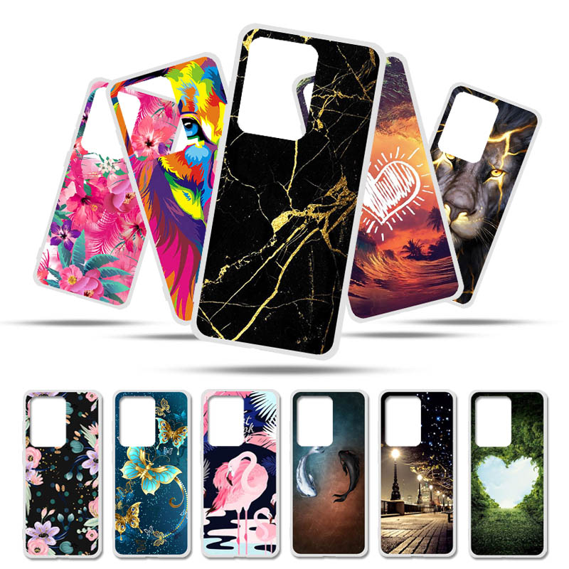 Silicon Covers Cases For Samsung Galaxy Core Prime G361 Case Painted Cover For Samsung S20 Ultra S10 S9 Plus S10E S10 Lite M31 image