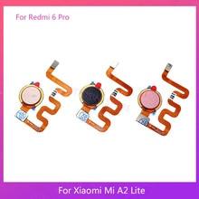 Replacement For Xiaomi Mi A2 Lite /Redmi 6 Pro Fingerprint Sensor Home Button Key Touch ID