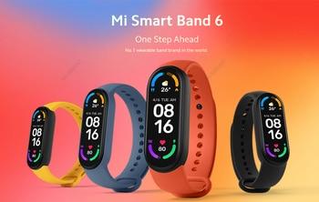 "Xiaomi Mi Band 6 Smart Bracelet 1.56""AMOLED"