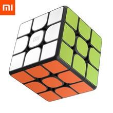 Orijinal Xiaomi Mijia Bluetooth sihirli küp akıllı ağ geçidi Rubik bulmaca eğitici oyuncaklar çocuklar için yetişkin iş