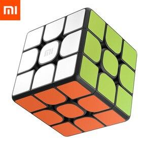Image 1 - オリジナル xiaomi mijia bluetooth マジックキューブスマートゲートウェイルービックパズル知育玩具子供のための大人の仕事