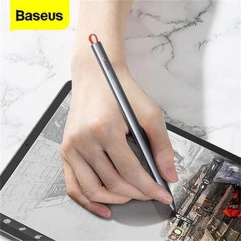Baseus Capacitive Stylus Pen For iPad Pro 11 12.9 2020 9.7 2018 Air Mini 3 10.2 Active Screen Touch Pen For Apple iPad Pencil 2 1