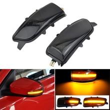 2x Dynamic LED Side Mirror Sequential Indicator Blinker Turn Signal Light For Volvo C30 C70 S40 S60 V40 V50 V70 2008 2010