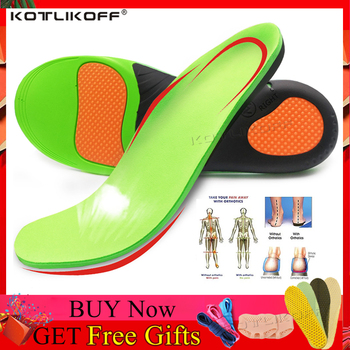 KOTLIKOFF High Quality EVA Orthotic Insole For Flat Feet Arch Support Orthopedic Shoes Sole Insoles For Men And Women Shoe Pads kotlikoff orthopedic insoles 3d eva insoles flat feet arch support shoe inserts for men women shoes orthotic insole foot pad