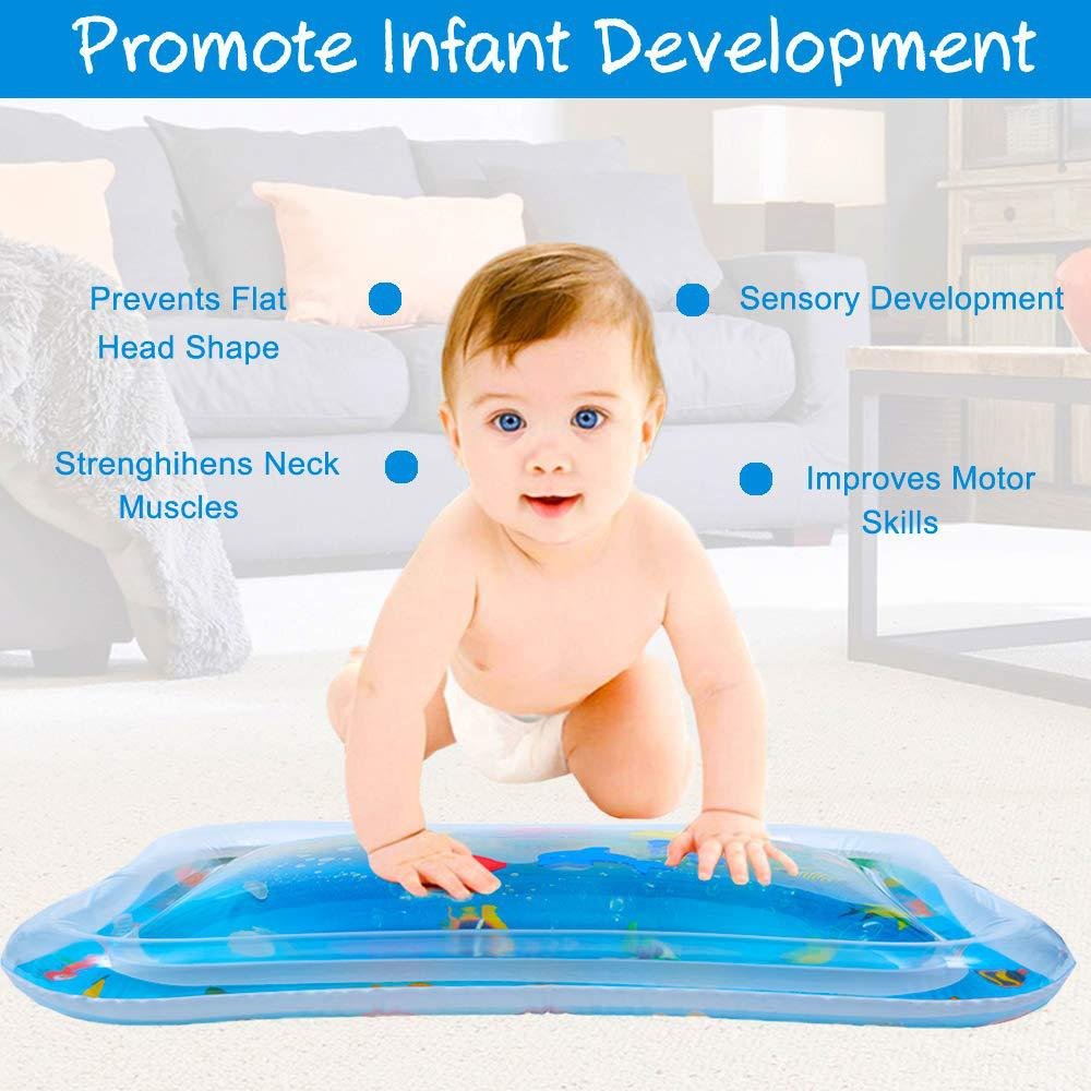 Baby Tummy Time Inflatable Water Play Mat - Beyond Baby Talk