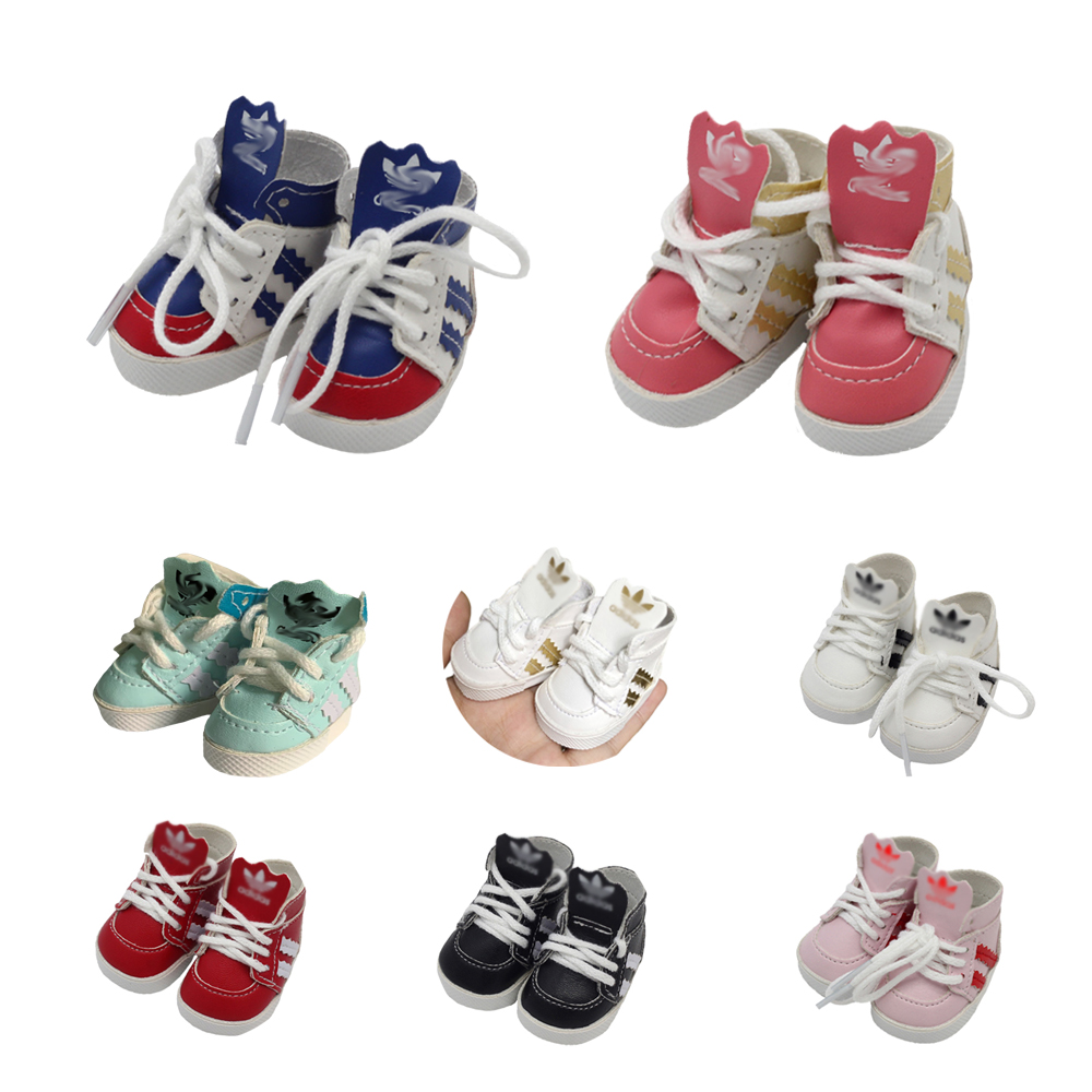 5.5cm Dolls Sports Shoes For 1/6 BJD Doll 20cm EXO Dolls Fit 14.5inch Girl Dolls Boots Clothing Accessories